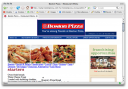 BostonPizza.com With Styles Disabled Revealing Table Layout